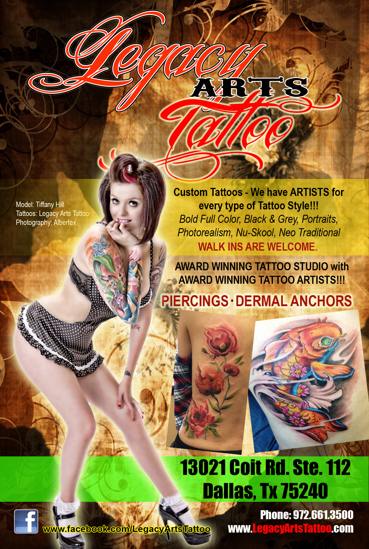 Legacy Arts Tattoo | Dallas Tattoo
